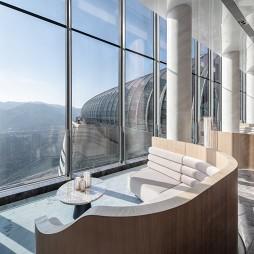 重庆来福士洲际酒店大堂图片