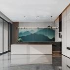 金融街路劲时光鸿著营销中心接待前厅设计