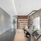 金融街路劲时光鸿著营销中心休闲区设计