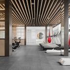 金融街路劲时光鸿著营销中心健身房设计