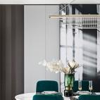 现代轻奢小餐厅设计图片
