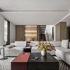 客厅L型沙发图片