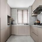 现代简约厨房间装修效果图