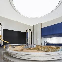 大华朗香公园里售楼处沙盘区设计