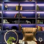家庭书柜装修图片