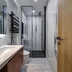 长方形小卫生间设计