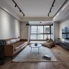 现代简约客厅地板