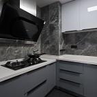 长方形小厨房效果图