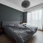 灰色卧室装修效果图