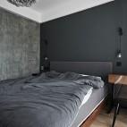 卧室灰色装修效果图