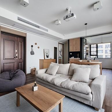 现代简约客厅沙发装修效果图