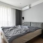 北欧风卧室窗帘效果图