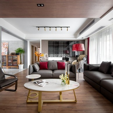 重庆江山樾4房现代风格装修设计案例作品_1599203895_4252739