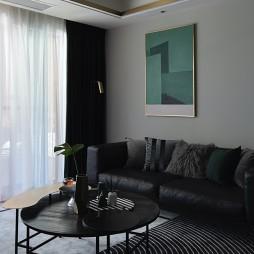 黑色+绿色 精装房变新家_1599990205_4261323