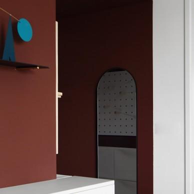 复古质感的红房子,年轻人最喜欢的开放式家_1600154060_4262874