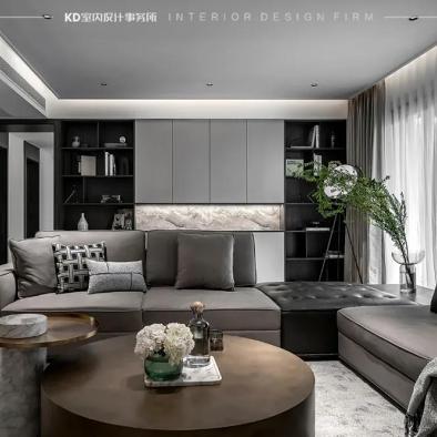 KD室内设计 远洋高尔夫 阳光通透大宅
