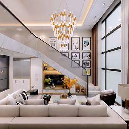 现代风格小复式公寓_1601792704_4278388