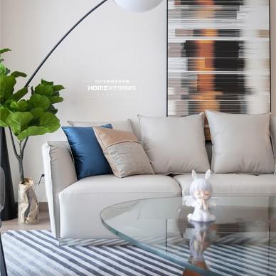 88平现代简约风格,舒适与质感并存_1602057794