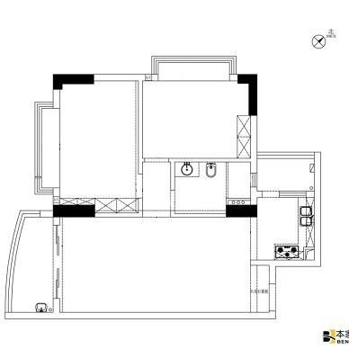 旧房改造变身大平层,小空间升级焕然一新!_1602513904_4284662