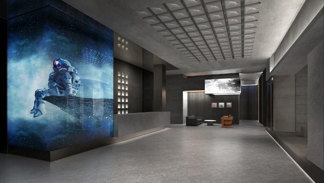 600㎡未来主义影厅