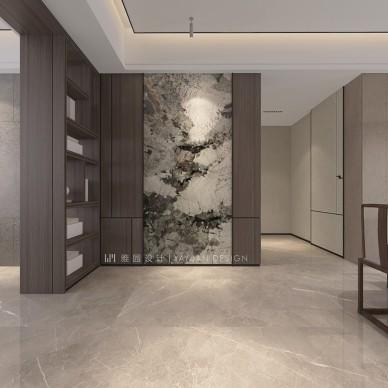 雅园设计 | 新中式 · 虚室有余闲_1602578637_4285395