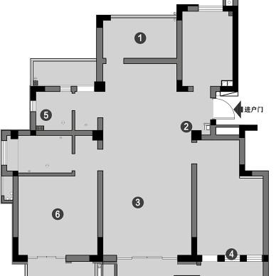 打造随性自由婚房,卫生间这样设计太实用了_1602581719_4285443