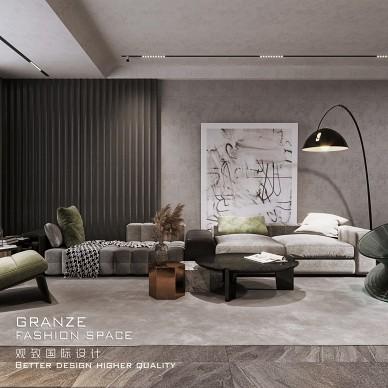【观致国际设计】香格里拉,高级黑的质感美_1602726520_4286715