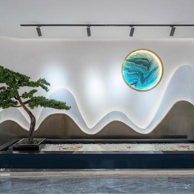 新中式售楼处,古韵时尚的山水画卷!_1603246671_4292696