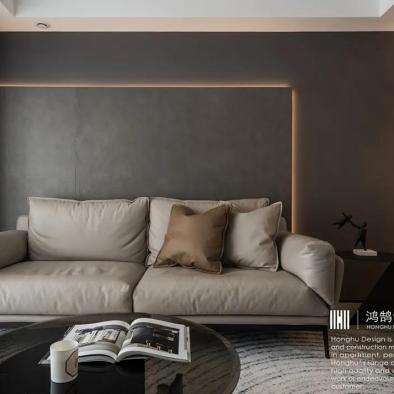 这是一个有细节、高品位的现代轻奢之家!
