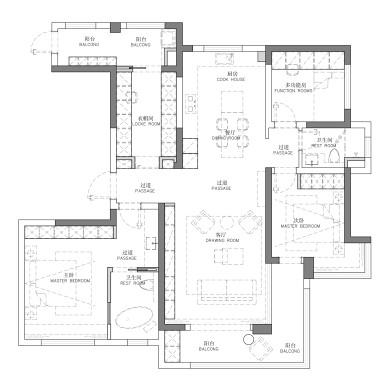 简单的木色公寓,却让人觉得很温暖!_1603850178_4299732
