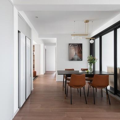 """收纳墙与三大""""空间折叠"""",倍感舒适的家_1603885687_4300276"""