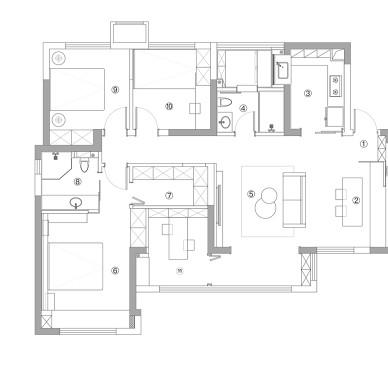 温馨小两居,清新素雅的居家氛围。_1605249102_4315275