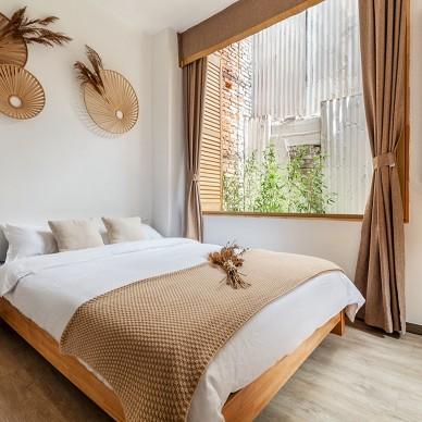暖暖日光下的新中式客房_1605270723