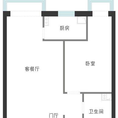 学区房逆天改造丨50㎡一居变三居_1605770932_4320353