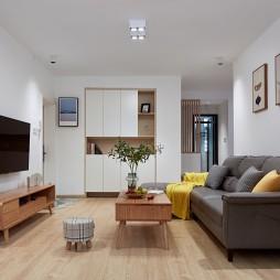 78m²日式空间,在家也能宅出美好!_1606276323_4325082