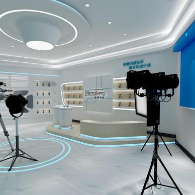 演播厅直播间展厅设计_1606705335