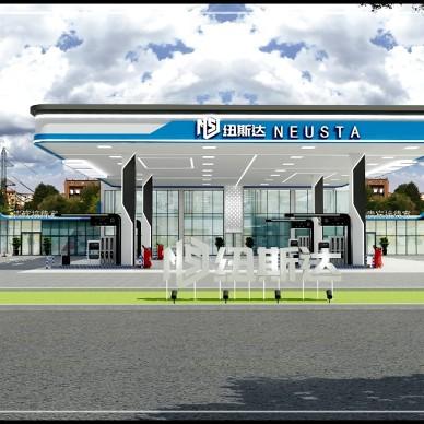 河南连锁店加油站设计_1606705923_4329106