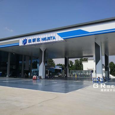 河南连锁店加油站设计_1606705924_4329107