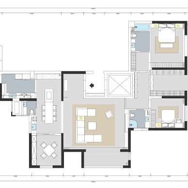 武汉品承设计  绿地名邸公馆  现代简约_1606800939_4330069