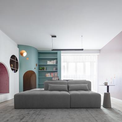 多功能设计,打造四口之家的萌趣互动空间