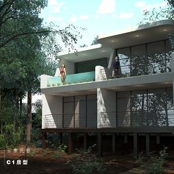 度假民宿建筑设计方案_1608603230_4346333