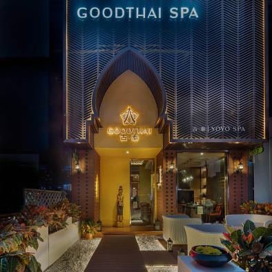 巨石空间设计:泰式庭院,古泰品牌再开新店