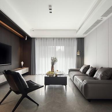 张剑男:扬州 现代风格私宅_1609209324