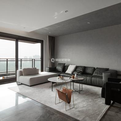 碧桂园天玺4房混搭风格设计案例作品