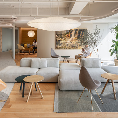 紅山設計丨ECCO愛步西北總部辦公室
