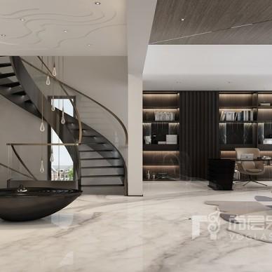 亚特兰蒂斯别墅空间设计|塑造,现代空间_1610245315_4359941