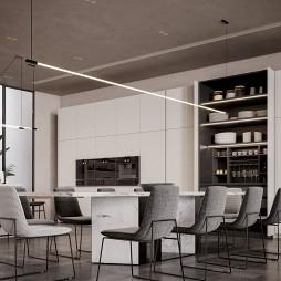 别墅餐厅设计_1610942796