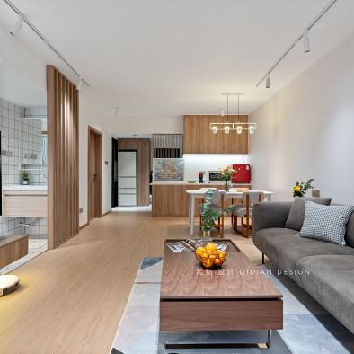 暖居丨66m²简约日式,享受精致慢生活