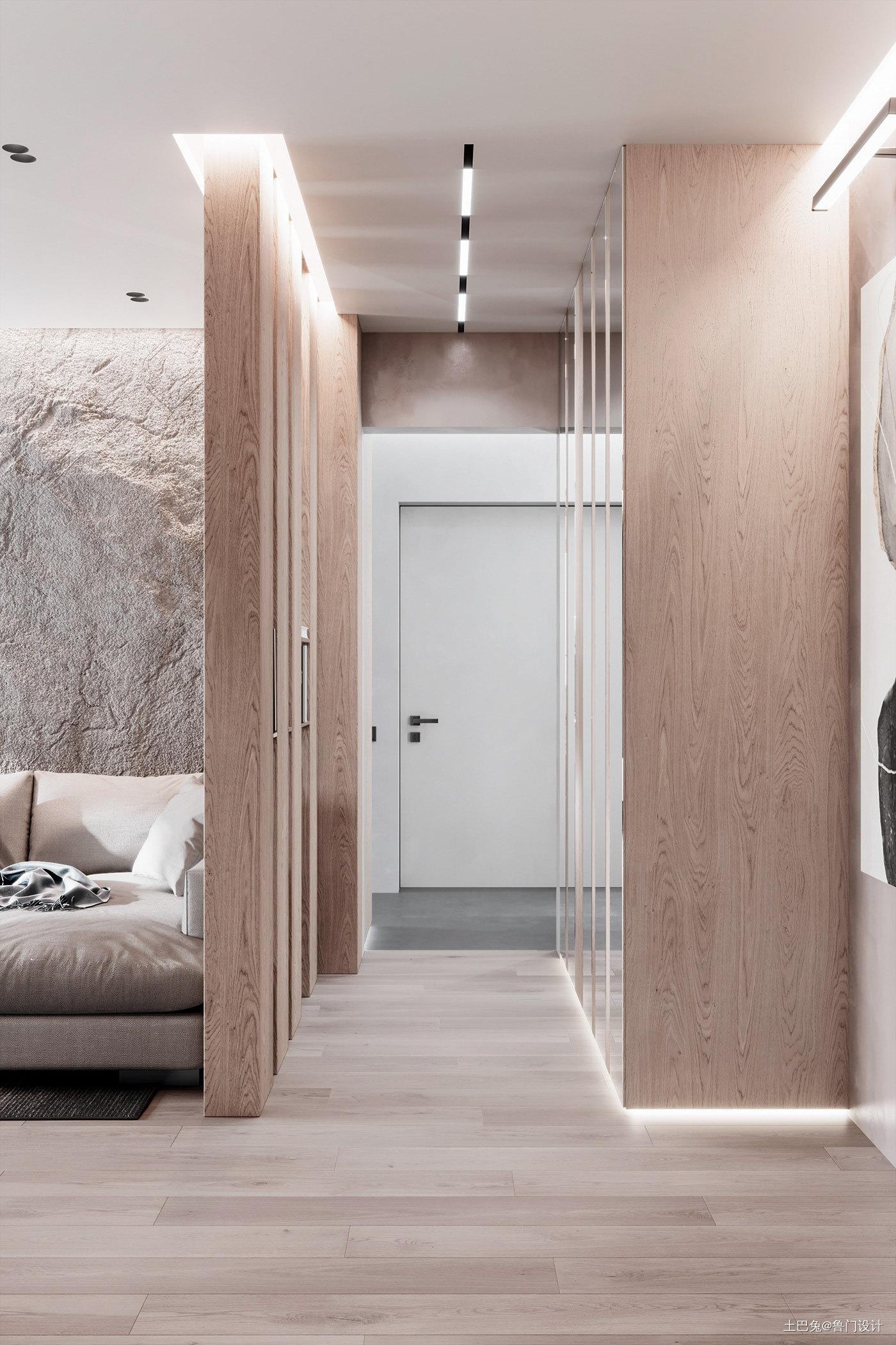 现代两居,让每个空间承载着生活的记忆_1615342194_4392906