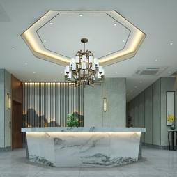 典雅主题酒店及餐饮设计大堂_1615354601_4393236